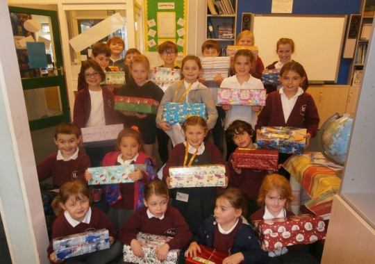 Operation Christmas Child - Shoe Box Collection